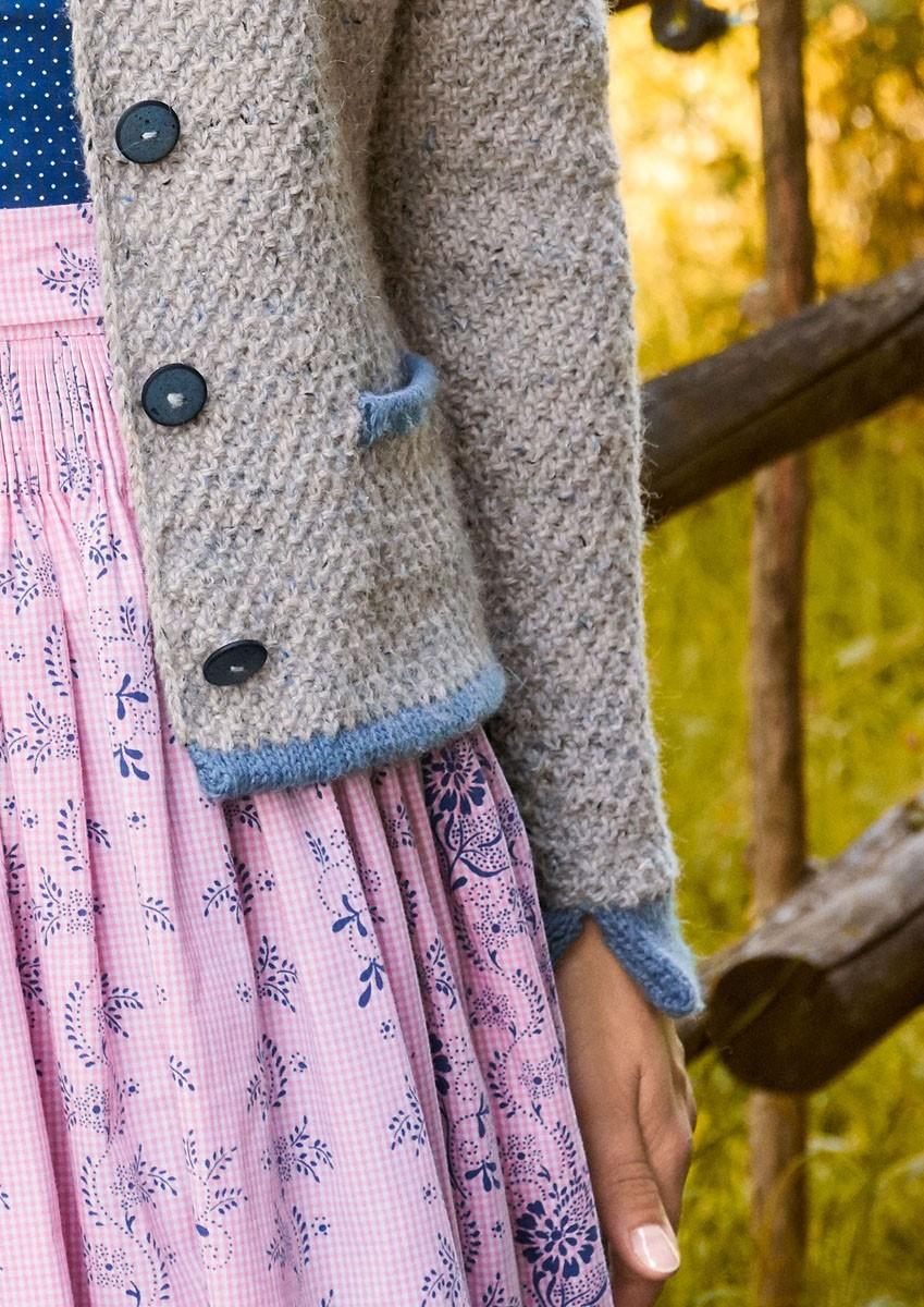 DAMENJACKE MIT TASCHEN Ascot/Cool Wool Alpaca von Lana Grossa