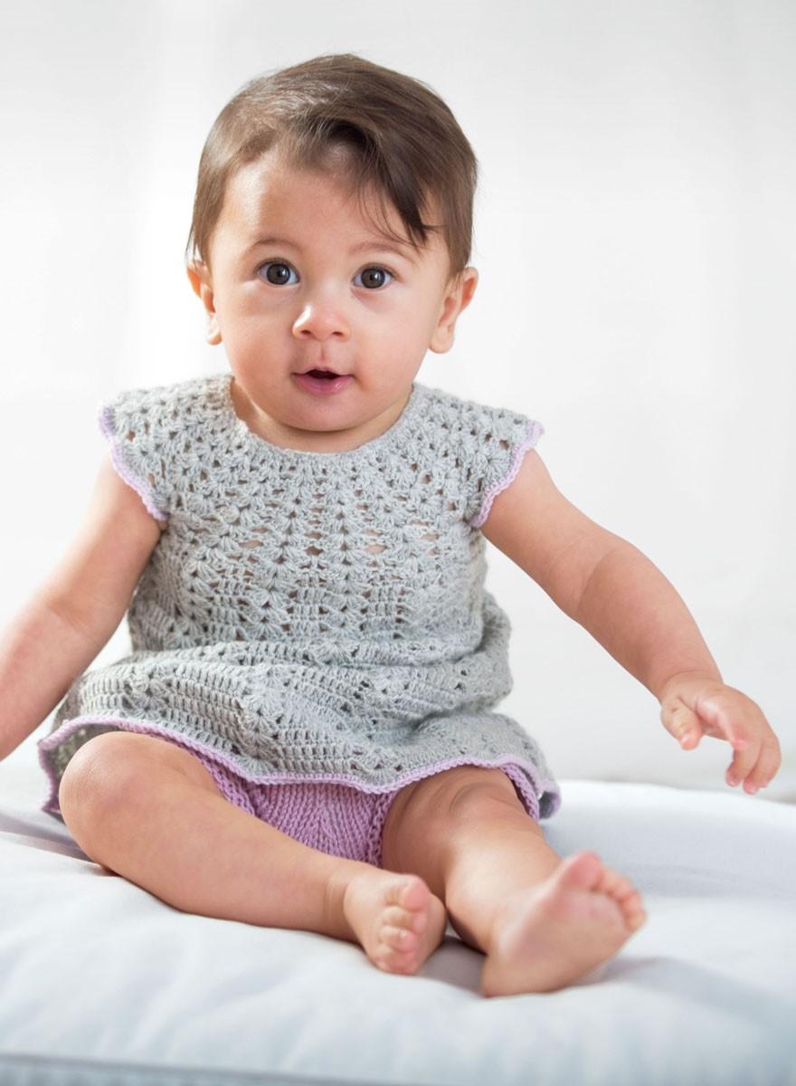 KLEID Cool Wool Baby von Lana Grossa