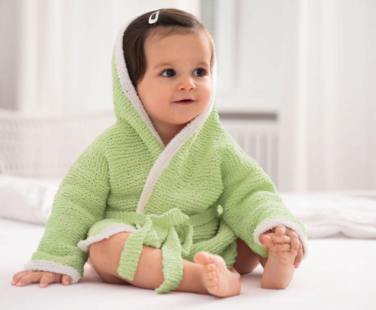 BADEMANTEL Baby Soft von Lana Grossa
