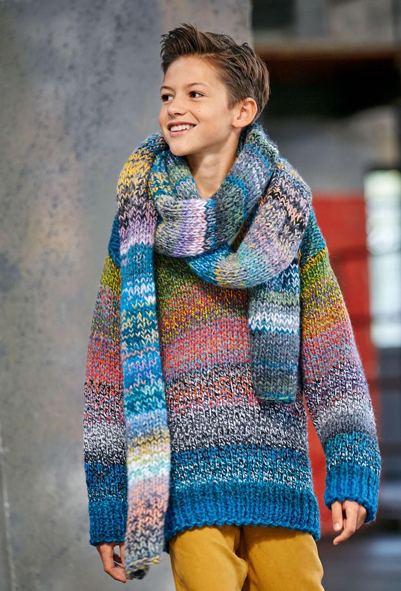 Pullover Tipico Filati Teens No 7 Modell 2 Von Lana Grossa