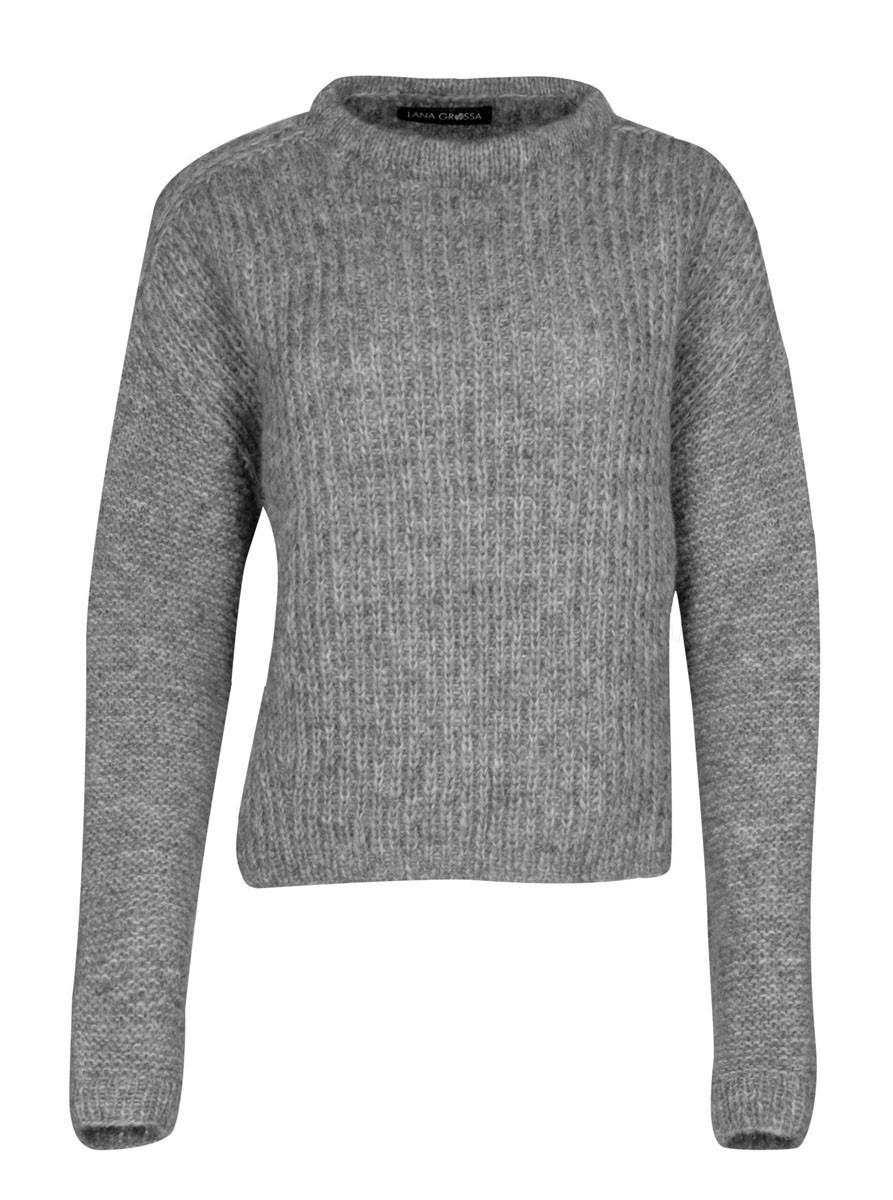 PULLOVER Lala Berlin Lovely Fine Tweed von Lana Grossa