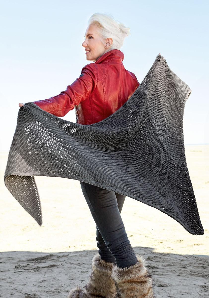DREIECKSTUCH Cool Wool Big 1:1 von Lana Grossa