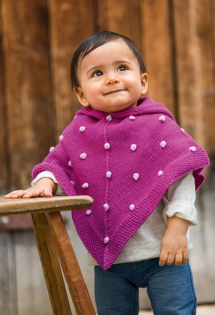 BABY-PONCHO Lena von Lana Grossa
