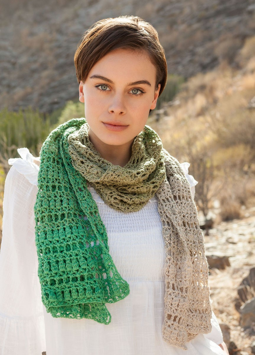 STOLA Shades Of Cotton Linen von Lana Grossa