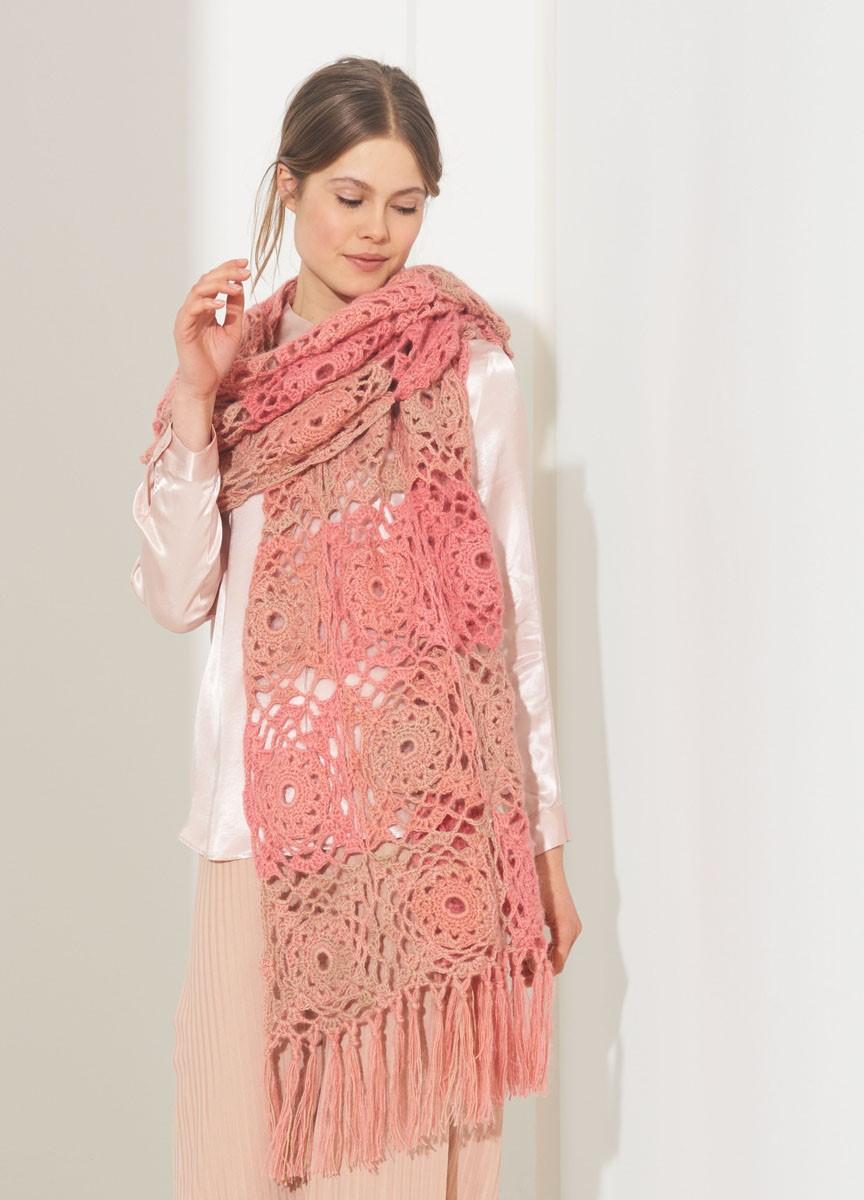STOLA Summer Lace Degradé/Silkhair von Lana Grossa