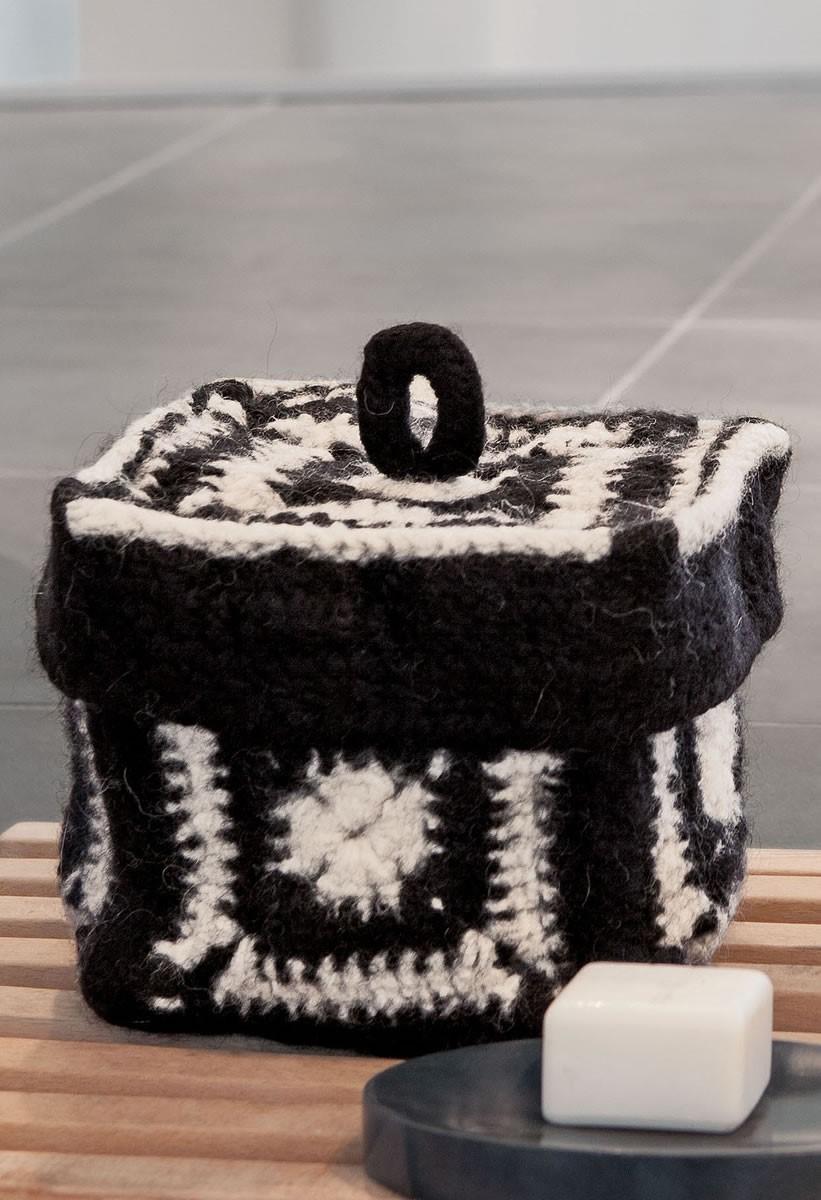 DECKEL-BOX Feltro von Lana Grossa