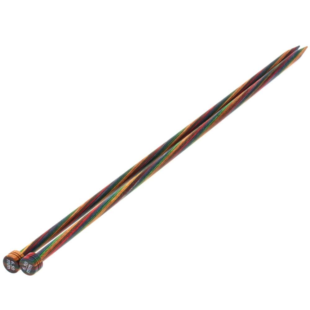 Jackenstricknadel Design-Holz Color St. 6,5/35cm von Lana Grossa