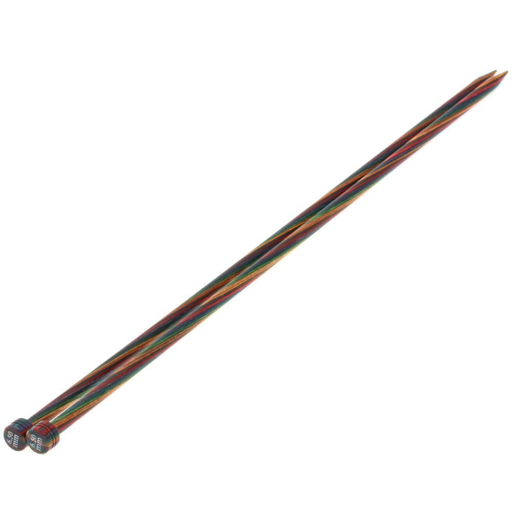 Jackenstricknadel Design-Holz Color St. 6,5/40cm von Lana Grossa