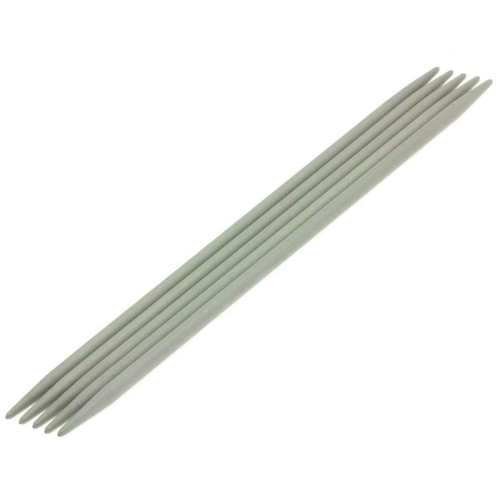 Nadelspiel Aluminium St. 5,0/20cm von Lana Grossa