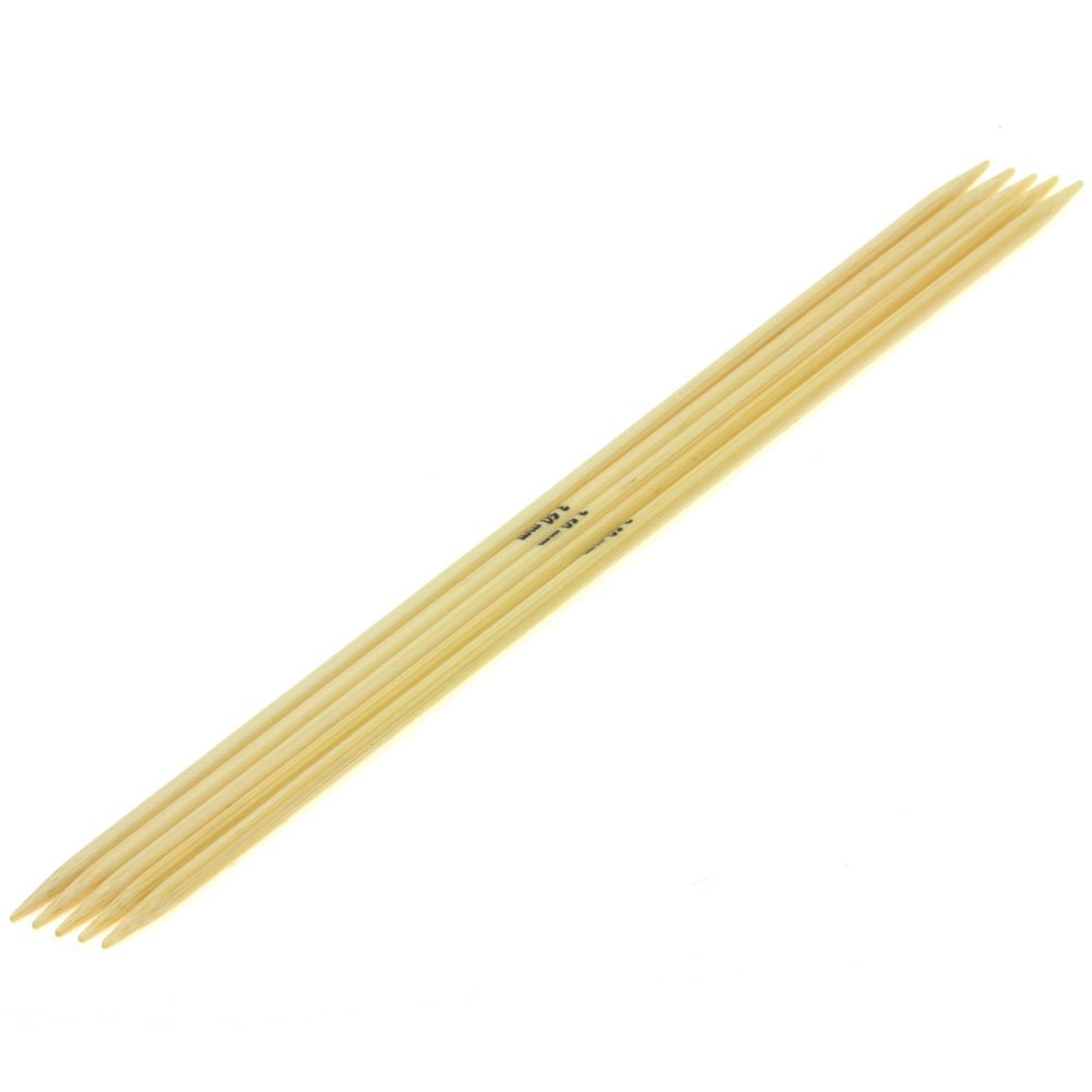 Nadelspiel Bambus St. 3,5/20cm von Lana Grossa