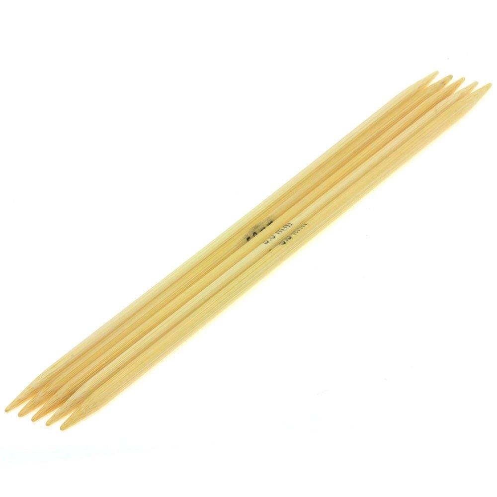 Nadelspiel Bambus St. 5,0/20cm von Lana Grossa