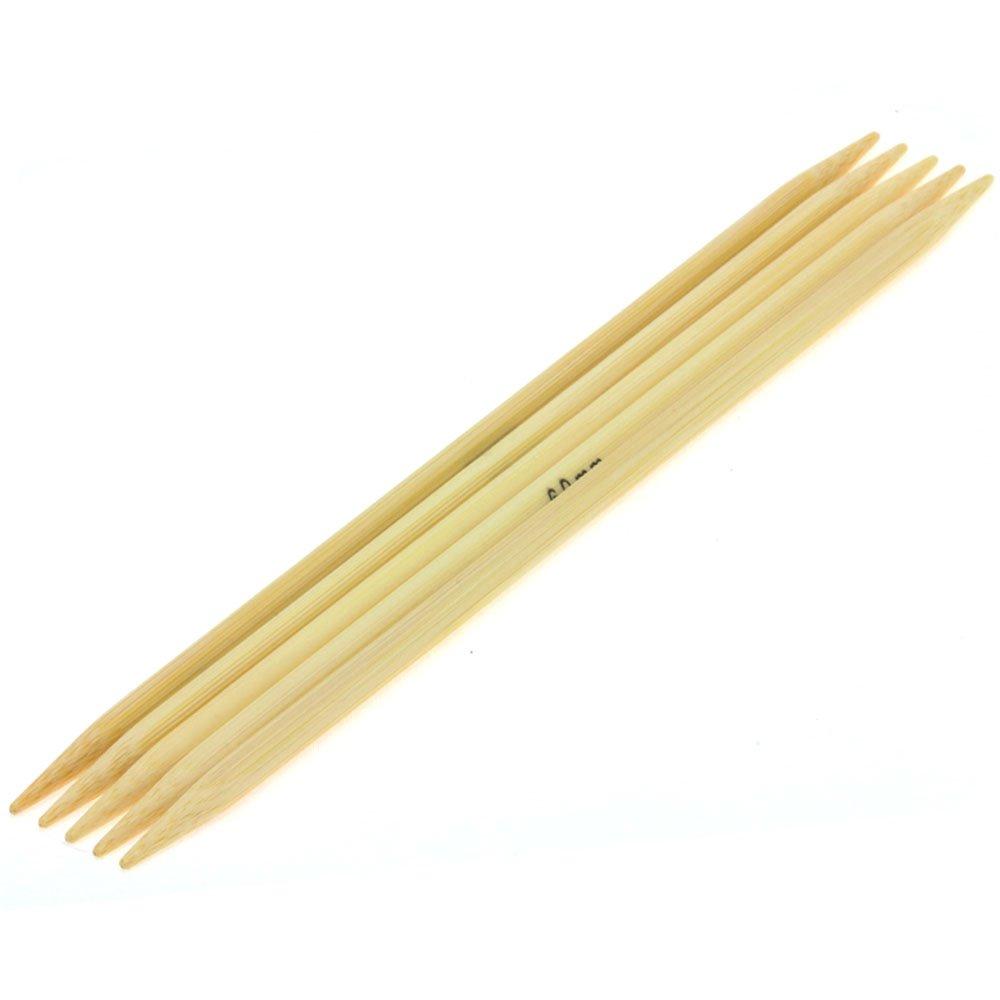 Nadelspiel Bambus St. 6,0/20cm von Lana Grossa