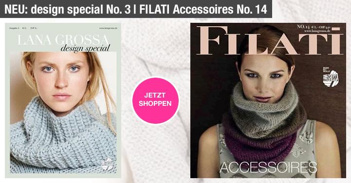 Lana Grossa design special No. 3 & Accessoires No. 14