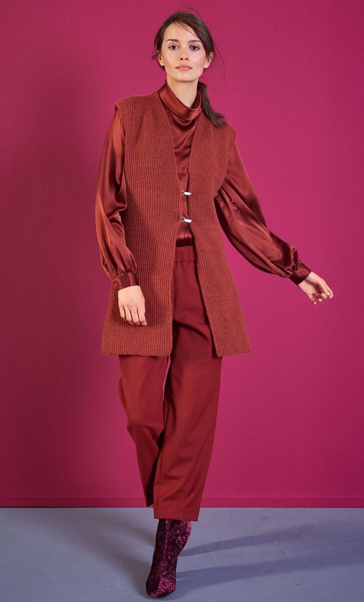 LANGE WESTE Cool Wool Alpaca von Lana Grossa